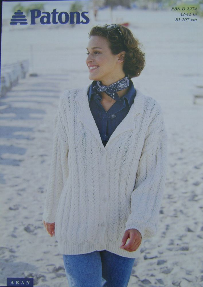 Patons Knitting Pattern 2274